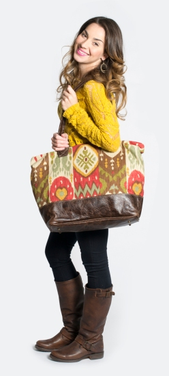 Harvest Ikat Bogatta Bag