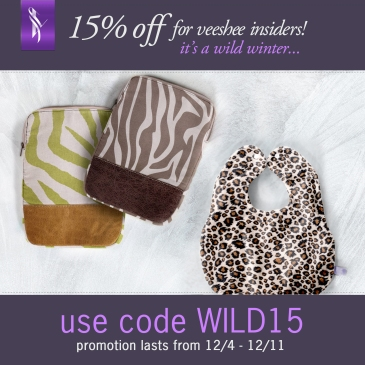 Veeshee Wild Winter Coupon