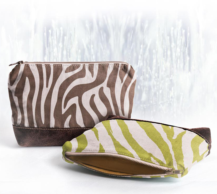 Wild Winter Cosmetic Bags