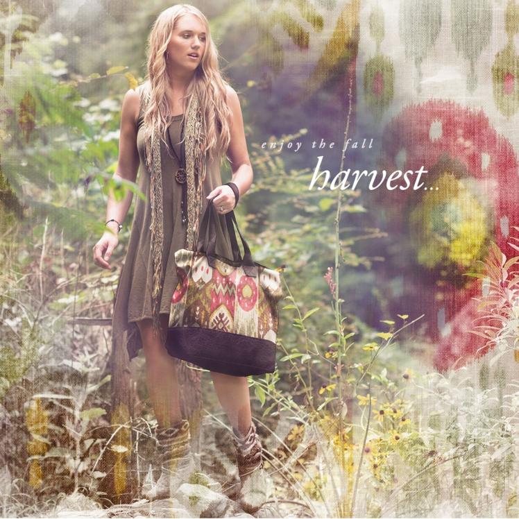 Harvest Ikat Veeshee Bogatta Bag