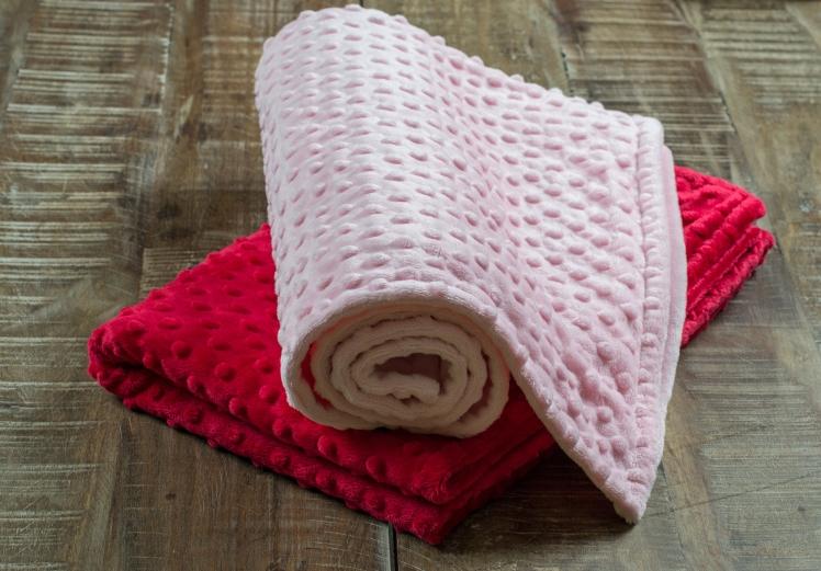 Valentine's Day Baby Blankets